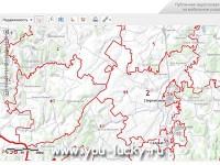 Публичная кадастровая карта земельных участков