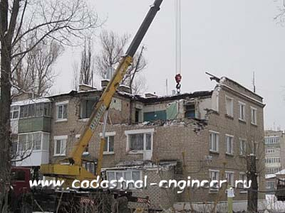 Возможно ли поставить на кадастровый учет частично разрушенное здание?