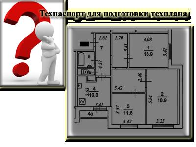 Подготовка технических планов на основании тех. паспортов, изготовленных после 1 января 2013 года